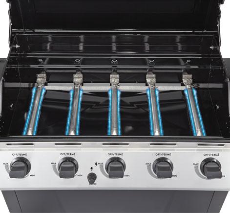 Master Chef 174 Select 5 Burner Barbecue